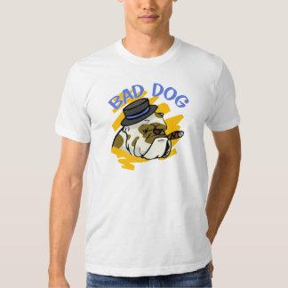 Malas camisetas del perro camisas