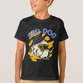 Malas camisetas del perro playeras