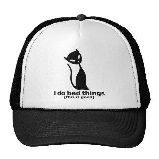Malas cosas - gato gorras