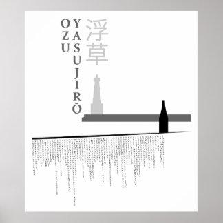 Malas hierbas flotantes póster