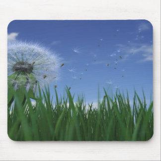 Malas hierbas alfombrilla de raton