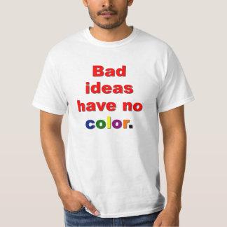 Malas ideas playera