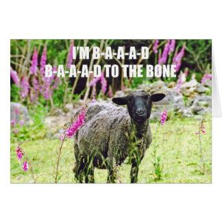 Malas ovejas negras tarjetón
