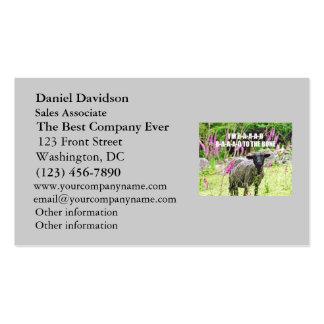 Malas ovejas negras tarjetas de visita