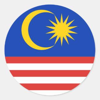 Malasia Pegatina Redonda
