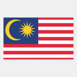 Malasia - pegatina de alta calidad de la bandera
