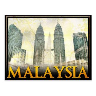 Malasia Tarjeta Postal