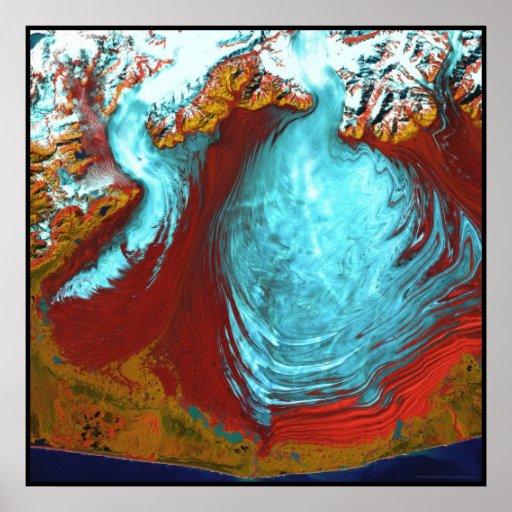 Malaspina Glacier Alaska Posters
