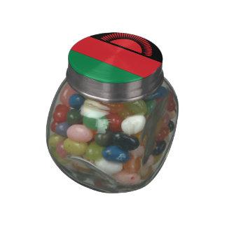Malawi Glass Candy Jars
