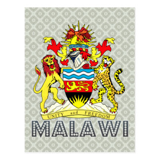 Malawi Coat of Arms Postcards