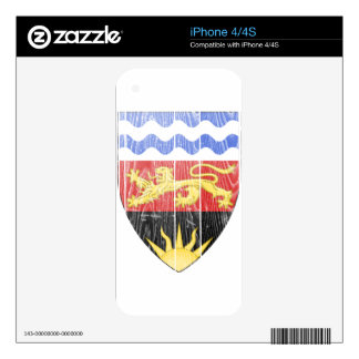 Malawi Coat Of Arms Skin For iPhone 4S