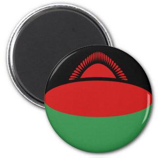Malawi Fisheye Flag Magnet