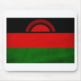 Malawi Flag Mouse Pads