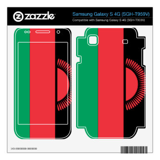 Malawi Flag Samsung Galaxy S 4G Skin