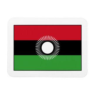 Malawi - Malawian Flag Rectangular Magnet