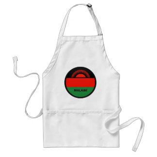 Malawi Roundel quality Flag Adult Apron