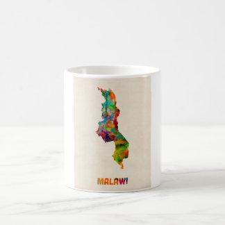 Malawi Watercolor Map Coffee Mug