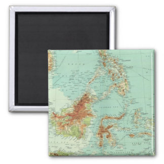 Malay Archipelago 2 2 Inch Square Magnet