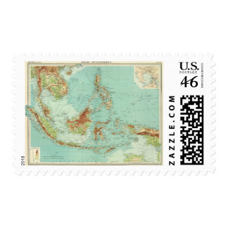 Malay Archipelago 2 Postage Stamps