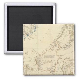 Malay Archipelago Fridge Magnet