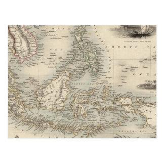 Malay Archipelago, or East India Islands Postcard