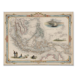 Malay Archipelago, or East India Islands Poster
