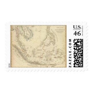 Malay Archipelago Postage Stamp
