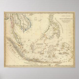 Malay Archipelago Poster