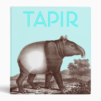 Malay Asian Tapir Loose Leaf Binder