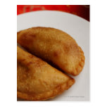 Malay curry puffs postcard