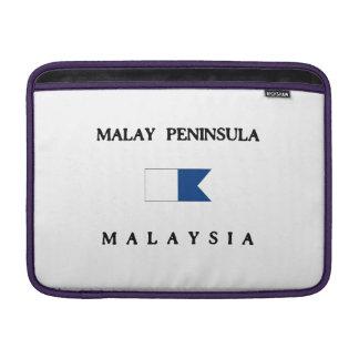 Malay Peninsula Malaysia Alpha Dive Flag MacBook Air Sleeves