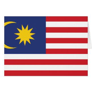 Malaya, Malaysia Greeting Card