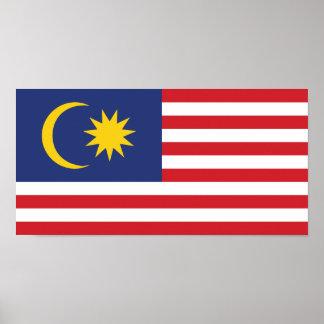 Malaya, Malaysia Poster