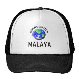 Malaya más grande del mundo gorros