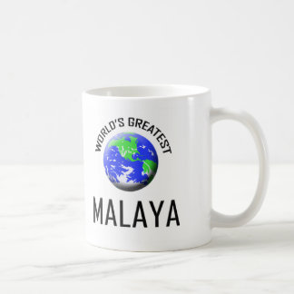 Malaya más grande del mundo taza de café