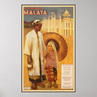 Malaya pintoresca póster