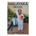 Malayaka House Film poster 11x17