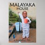 Malayaka House film poster Full 27x40