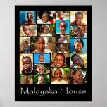 Malayaka House Poster children