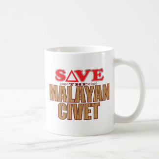 Malayan Civet Save Coffee Mug