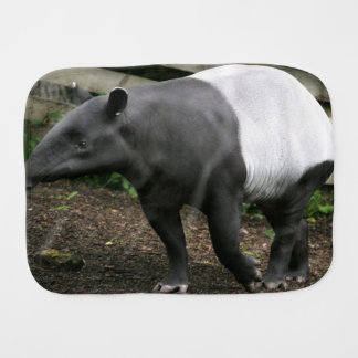 Malayan Tapir Burp Cloth