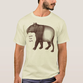 Malayan Tapir - Save the Tapir, I Love Tapirs T-Shirt