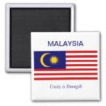 Malayasian Flag Fridge Magnets