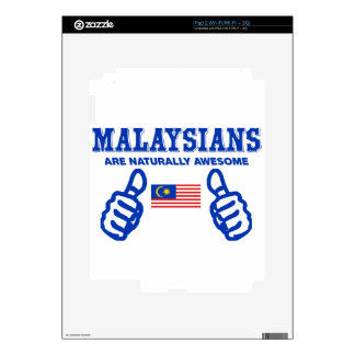 malaysia are naturally awesome decal for the iPad 2