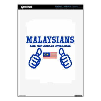 malaysia are naturally awesome iPad 3 decals