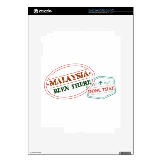 Malaysia Been There Done That Decal For iPad 2