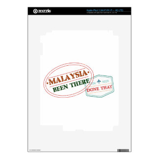 Malaysia Been There Done That iPad 3 Skin