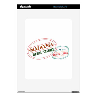 Malaysia Been There Done That Skin For iPad