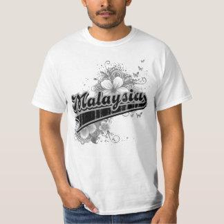 Malaysia Black Basic Tee Shirt