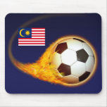 Malaysia Blazing Soccer Mouse Pad